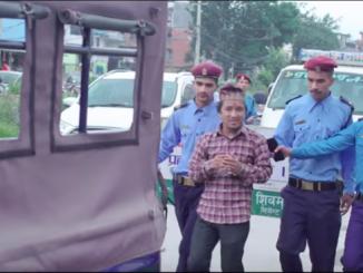 किन पक्रयो  गायक भागिरथ चलाउनेलाई पुलिसले